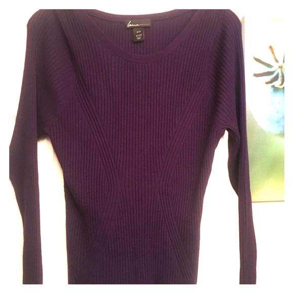 d21aba2e9a2 Lane Bryant Sweaters - Dark violet sweater - stretch!